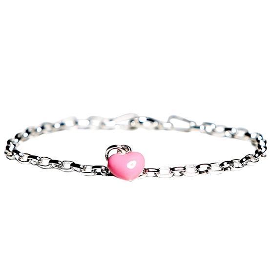 Kalas - Armband Rosa Hjärta