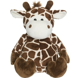 Teddykompaniet - Naveldjur Giraff 30 Cm