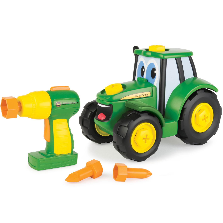 tomy john deere bygg en traktor. Black Bedroom Furniture Sets. Home Design Ideas