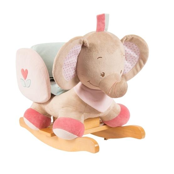 Nattou - Gungdjur Rose Elefant