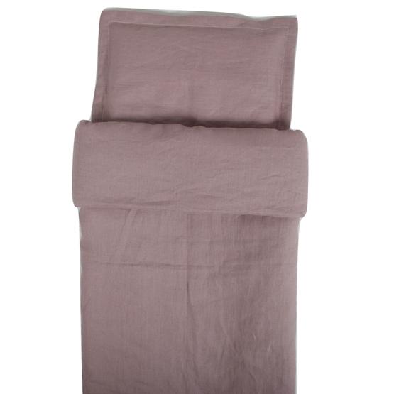 NG Baby - Påslakan Spjälsäng - Dusty Pink