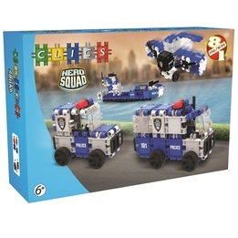 Clics - Hero Squad Police Box