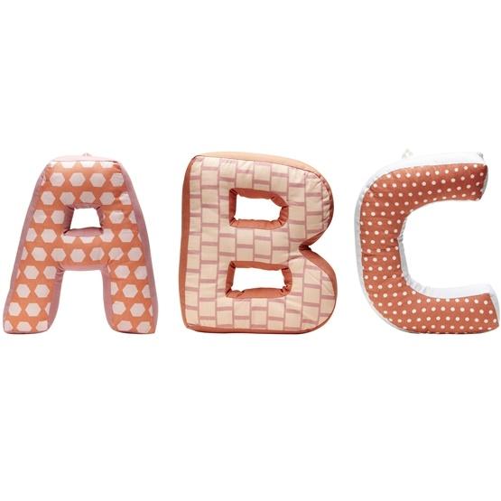 Kids Concept - ABC Kuddar Edvin Rosa Multi