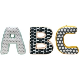 Kids Concept - ABC Kuddar Neo Grön Multi