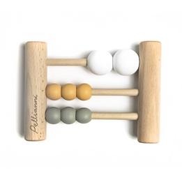 Pellianni - Wooden Abacus Mustard