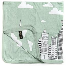 Pellianni - Snuttefilt - Organic Blanket, City