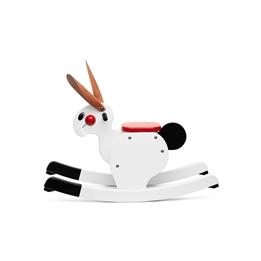 Playsam - Rocking Rabbit White