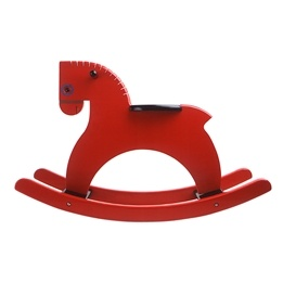 Playsam - Rocking Horse Red