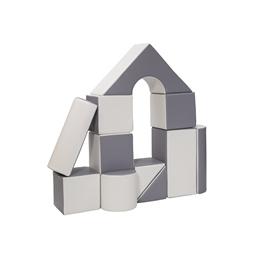 Byggkuddar 11st (Vit/Grå)