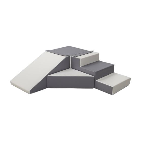 PQP - Byggkuddar - 4 stycken - Vit, Grå