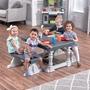 Step2 - 3 Piece Farmhouse Table & Bench Set