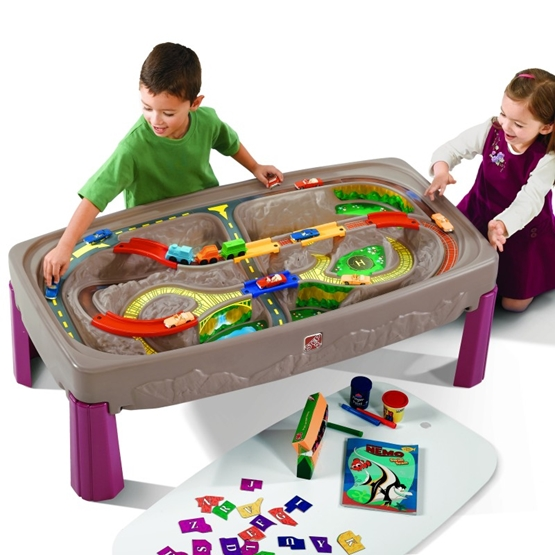Step2 - Deluxe Canyon Road Train & Track Table