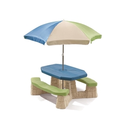 Step2 - Naturally Playful Picnic Table With Umbrella