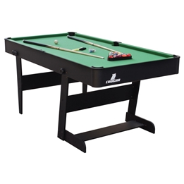 Cougar - Biljard - Hustle L folding Pool Table Black