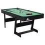 Cougar - Biljard - Hustle L folding Pool Table Black
