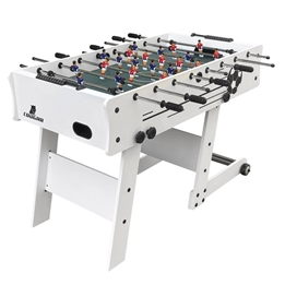 Cougar - Fossball - Scorpion Kick Folding Football Table White