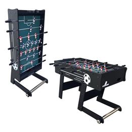 Cougar - Fossball - Scorpion Kick TS Folding Football Table Black