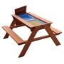 Step2 - Dave Sand & Water Picnic Table Brown
