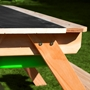 Step2 - Dual Top 2.0 Sand & Water Picnic Table with Green bins