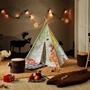 Step2 - World Map Teepee Tent Multicolour