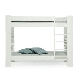 Unipuu - Våningssäng - 80 cm - Vit