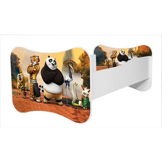 Barnsäng - Mati Med Madrass - Kung Fu Panda