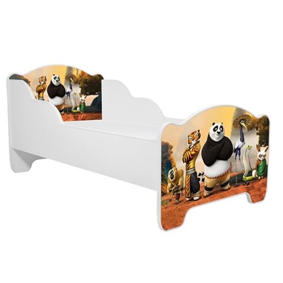Barnsäng - Michas Med Madrass - Kung Fu Panda