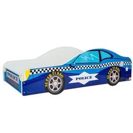 Barnsäng - Car Med Madrass - Blue