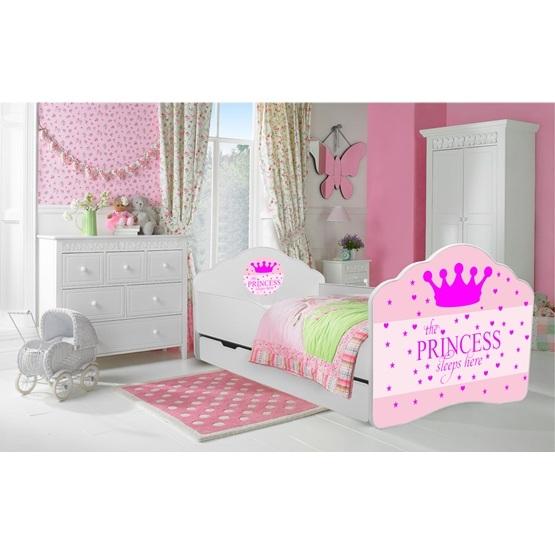 Barnsäng - Fala Med Madrass - Sleepy Princess