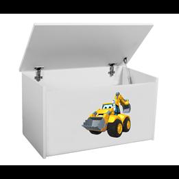 Förvaringslåda - Lastare - Vit