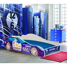Barnsäng - Car Med Madrass - Sherriff
