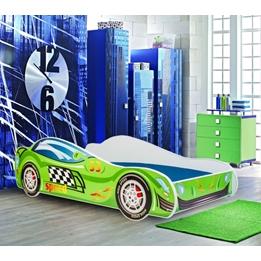 Barnsäng - Car Med Madrass - Speed