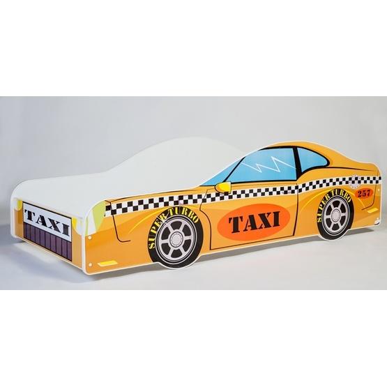 Barnsäng - Car Med Madrass - Yellow
