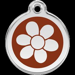 Red Dingo - ID-bricka Skolväska Blomma