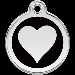 Red Dingo - ID-bricka Skolväska Elegant Hjärta