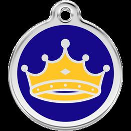 Red Dingo - ID-bricka Skolväska King's Mörk Blå