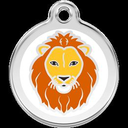 Red Dingo - ID-bricka Skolväska Lejon Vit