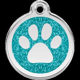 Red Dingo - ID-bricka Skolväska Glitter Tass