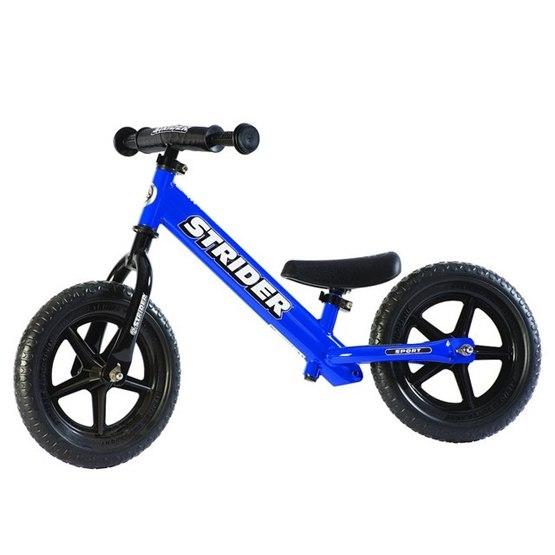 "Strider - Balanscykel - Sport 12"" - Blå"