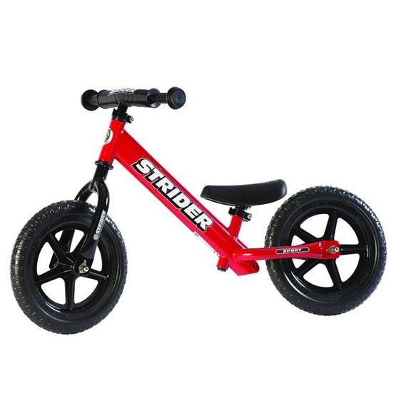 "Strider - Balanscykel - Sport 12"" - Röd"