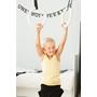 Romerska Ringar Barn - Vita Remmar - Obehandlat Trä