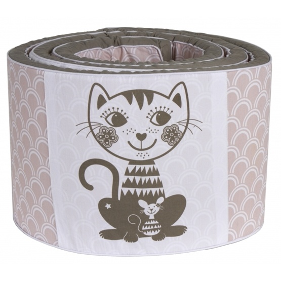 Roommate - Spjälskydd - Soulmate Cat - Grå/Rosa