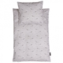 Roommate - Kite Bedset - Baby Grey/Black