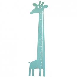 Roommate - Mätsticka - Giraffe Measure Pastel Green