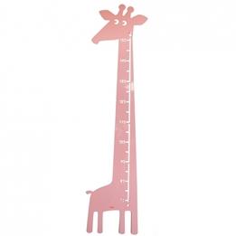 Roommate - Mätsticka - Giraffe Measure Patstel Rose