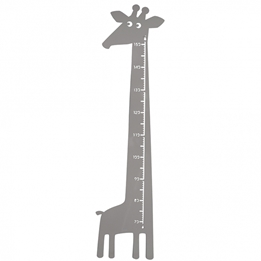 Roommate - Mätsticka - Giraffe Measure Grey