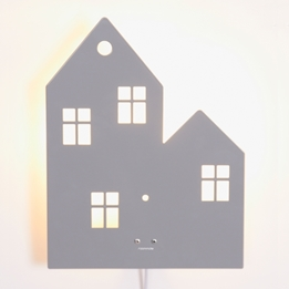 Roommate - Lampa - Town House Grey