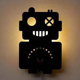 Roommate - Lampa - Robot Lamp Pastel Blue