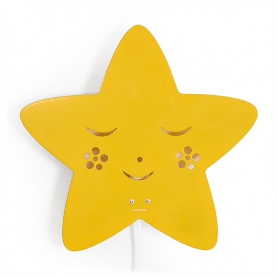 Roommate - Lampa - Star Lamp Yellow