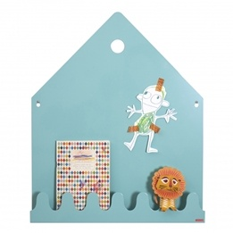 Roommate - Village Magnetic Board Pastel Blue/Green
